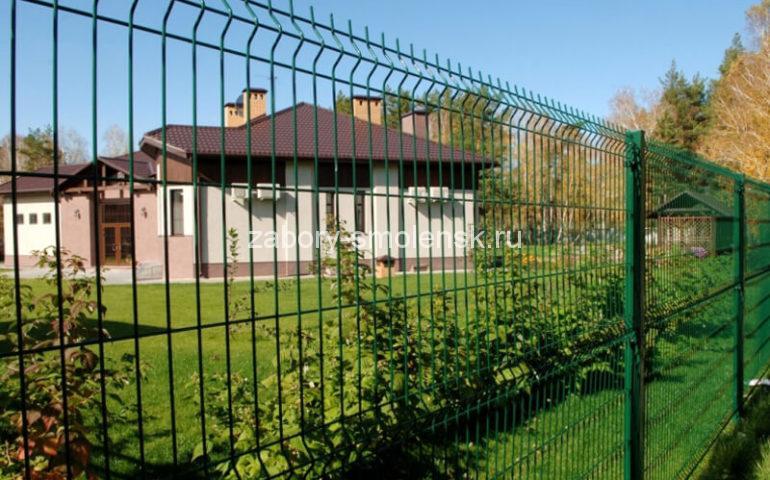 3д забор в Смоленске