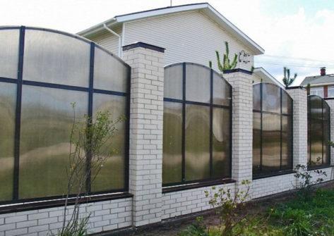 забор из поликарбоната цена в Смоленске