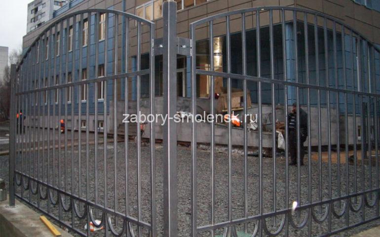 забор из профтрубы в Смоленске
